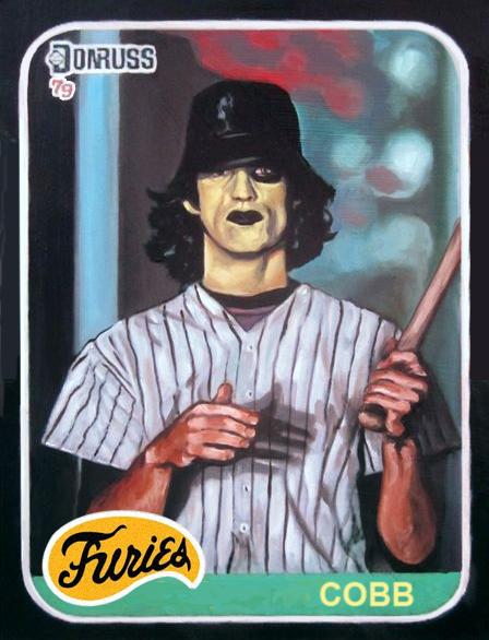 From The Warriors Baseball Furies Baseball Card Warrior Movie The Warriors Baseball Furies Movie Artwork
