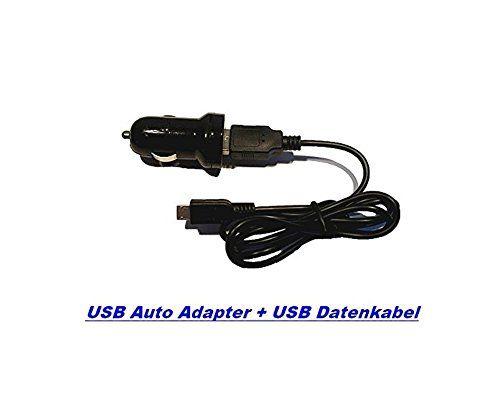 3in1 V8 SET 1000mAh USB Auto Ladegerät + USB Micro