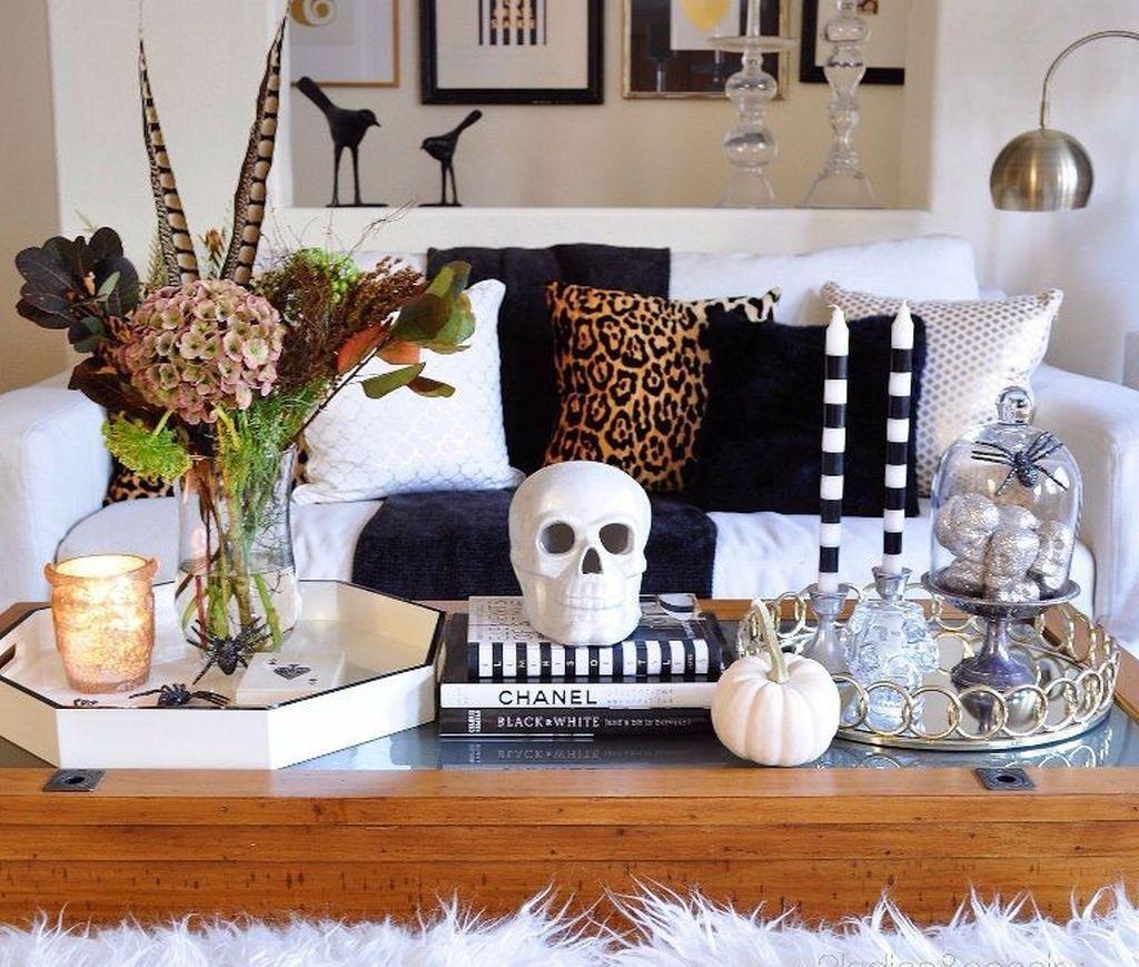 48 wunderbare DIY Halloween Wohnzimmer Deko Ideen images