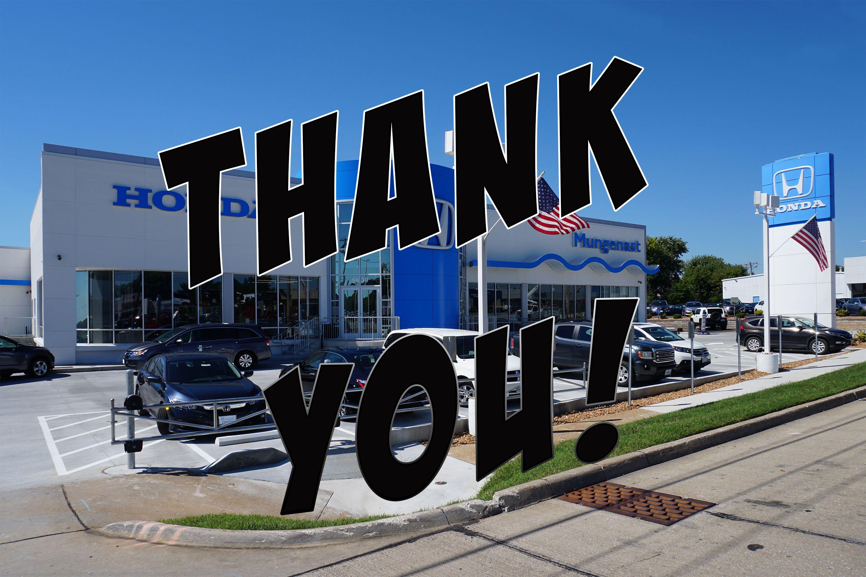 St Louis Honda >> Bid Sale Update Thank You To All Our Bidders Mungenast St