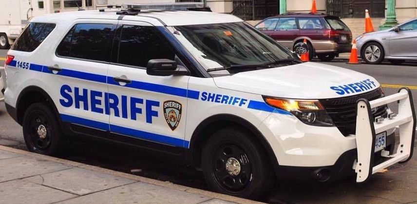 County Of New York City S Sheriff S Department Ford Interceptor Utility Police Cars Old Police Cars Johnny Law