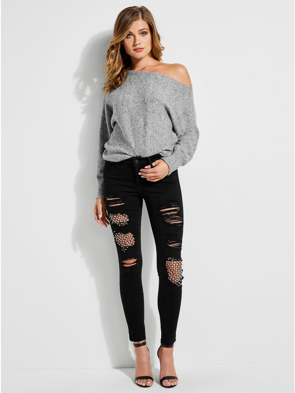 5d93c2451 Catrina Off-The-Shoulder Sweater