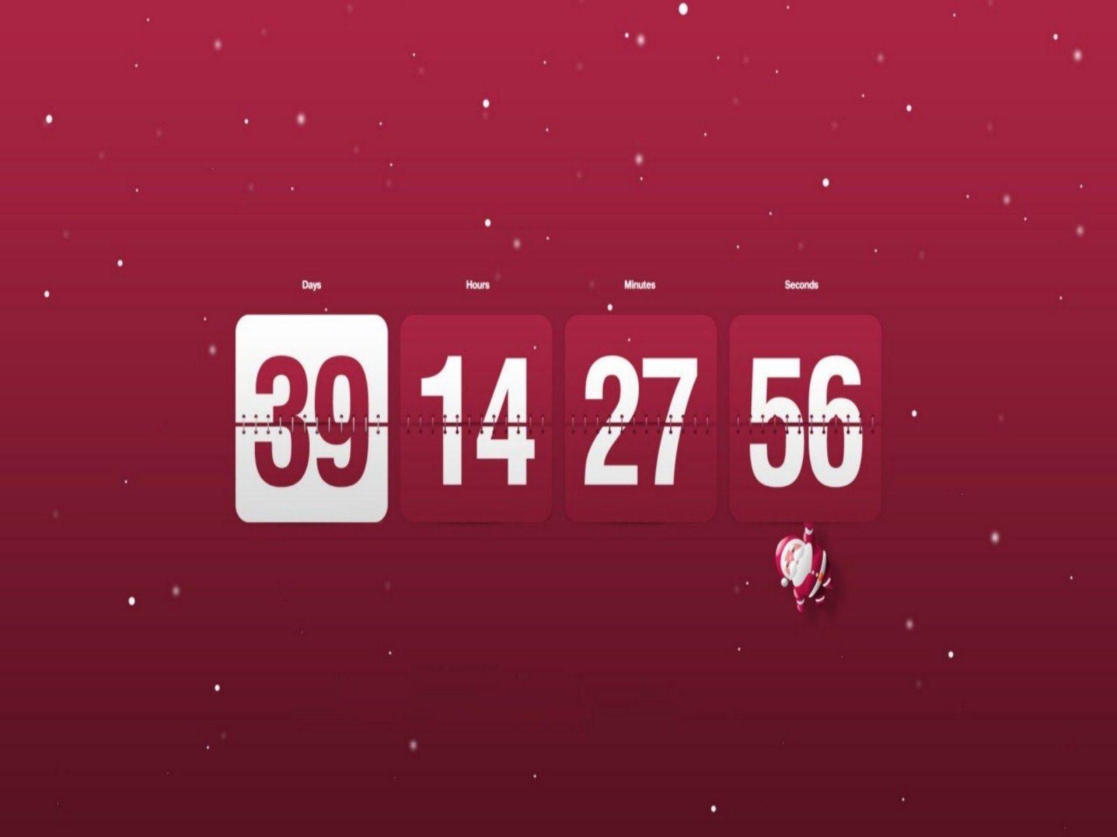 Countdown Calendar For Your Desktop Countdown Calendar Christmas Countdown Wallpaper Blank Calendar Template