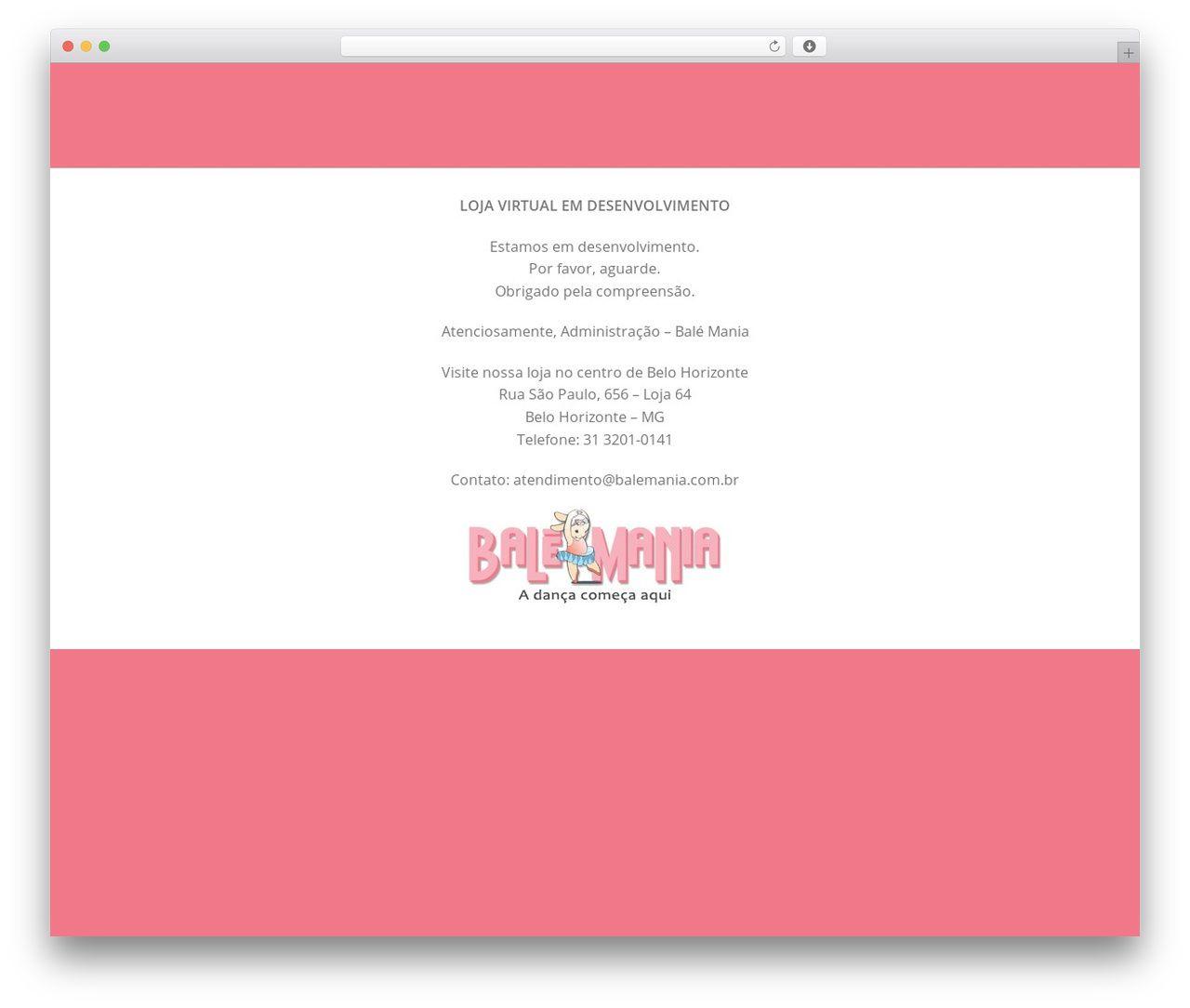 6b332dd4ad Flatsome theme WordPress - balemania.com.br
