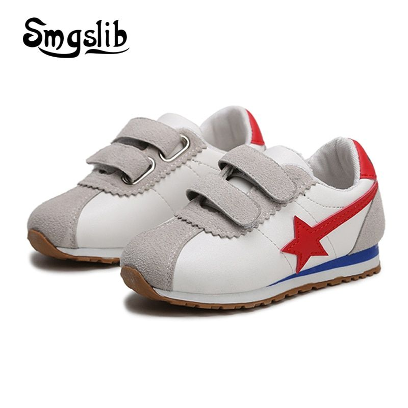 fc067e35b2da Girls shoes baby boys 2018 classic Casual Sneakers toddler teenage child  sport leather shoes Kids running
