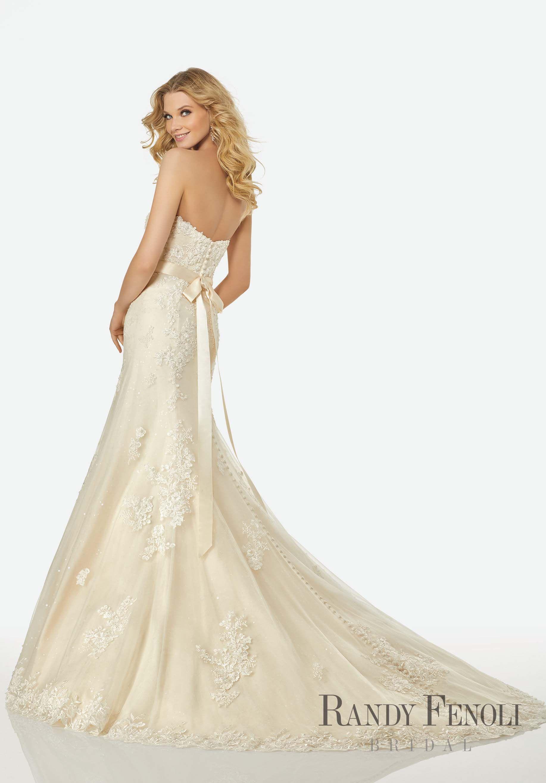 Randy fenoli bridal kathryn wedding dress style strapless
