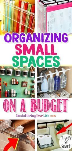 Organizing Small Spaces on a Budget images