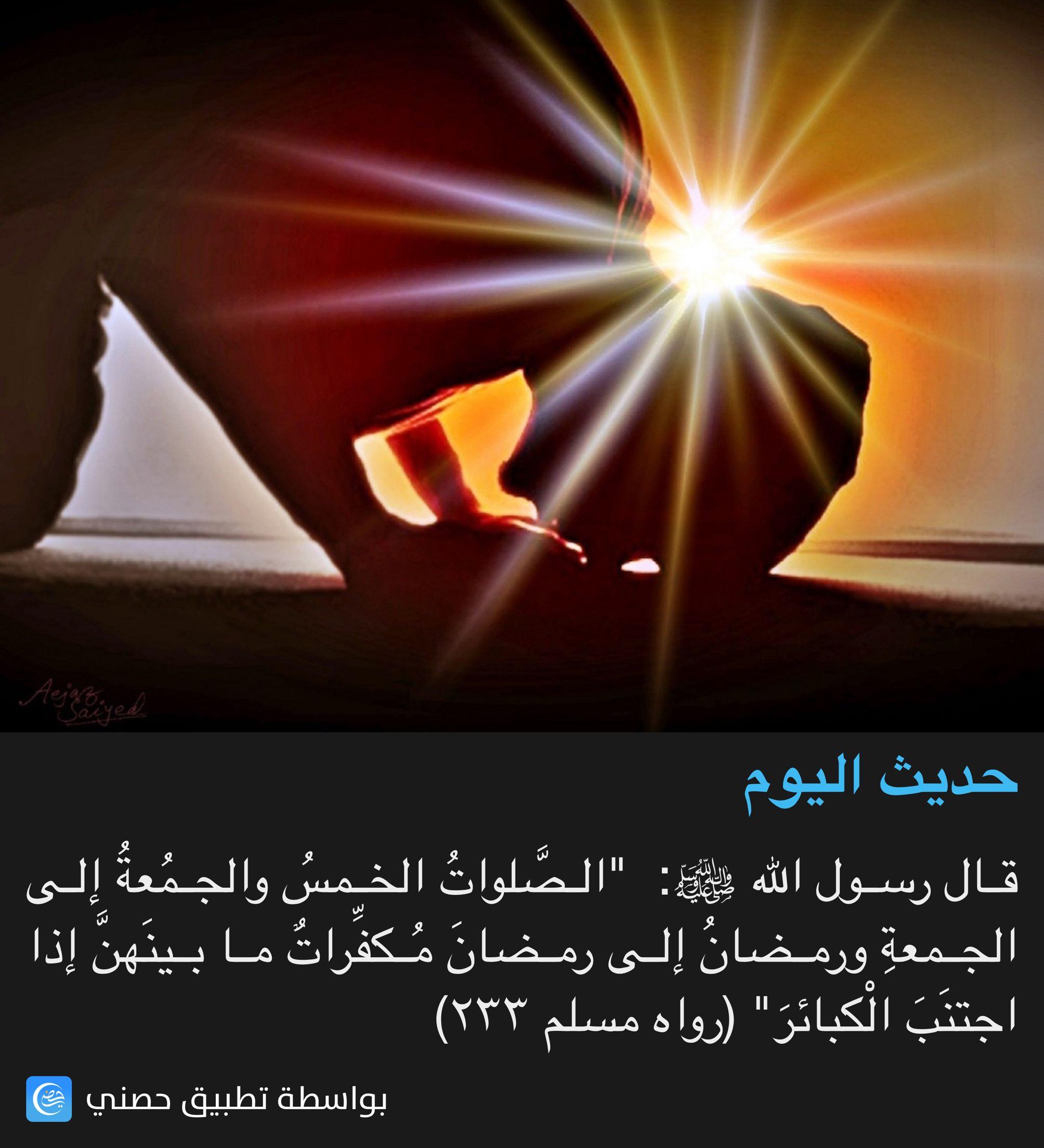 إذا اجتنبت الكبائر Hadith Islam Frame Template