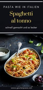 Spaghetti al tonno Spaghetti al tonno