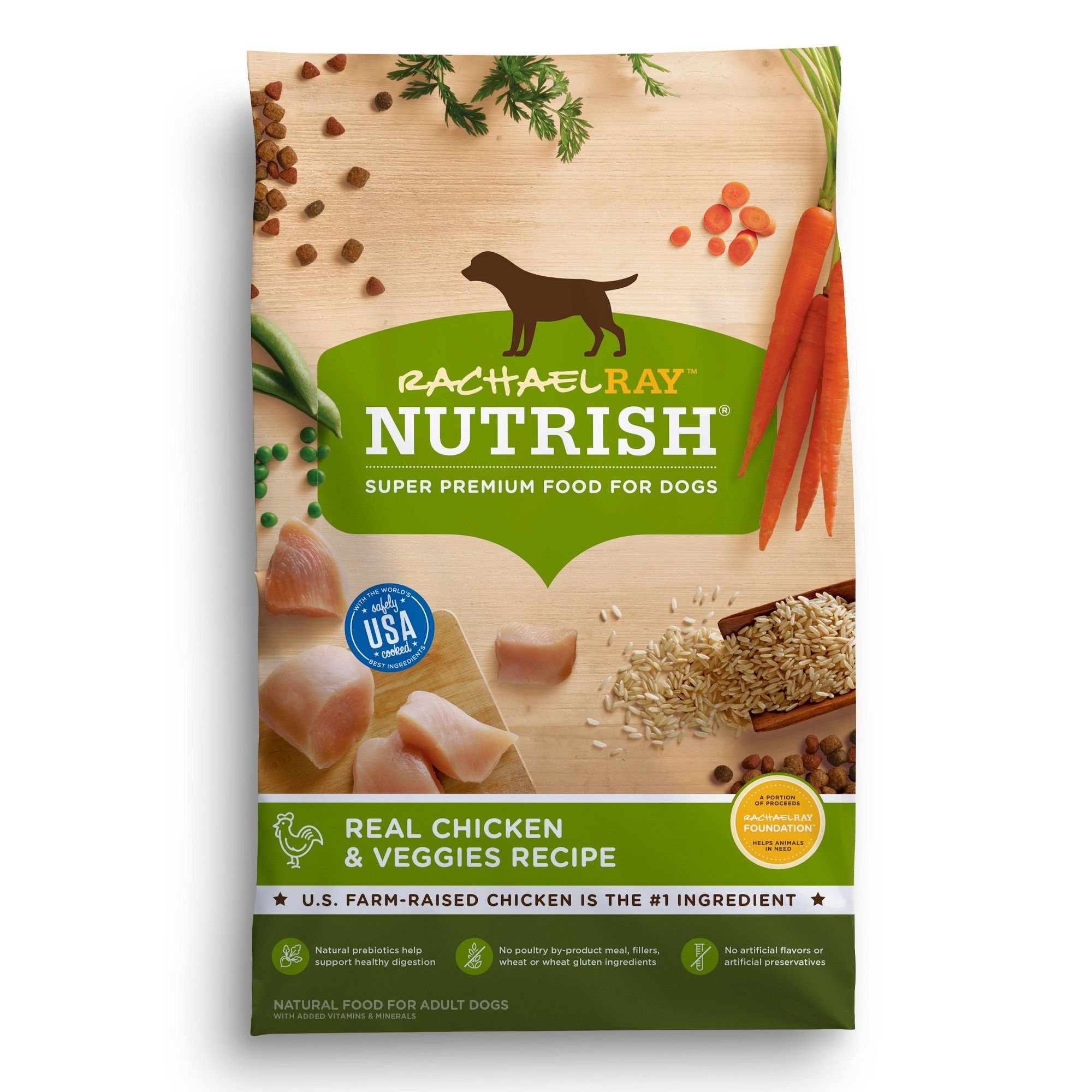 Rachael Ray Nutrish Real Chicken And Veggies Flavor Dry Dog Food