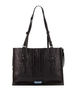 d5949491e06e Prada Etiquette Large Glace Calf Shoulder Bag | Products | Bags ...