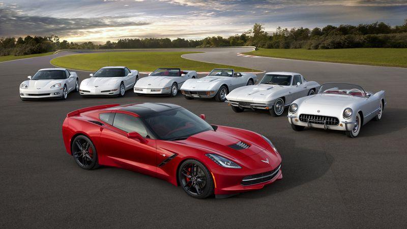 2014 Chevrolet Corvette C7 vs. Jaguar Ftype V8 (With