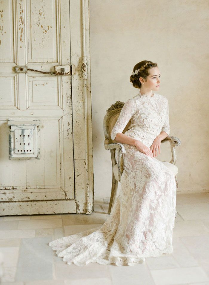 Vintage Inspired Wedding Dress | Fab Mood #weddingdress