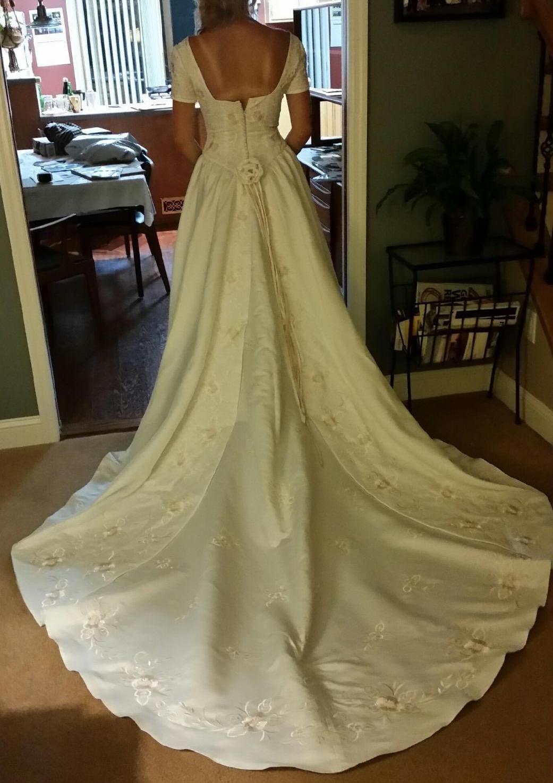 Alfred Angelo 1986 6 Dresses Wedding Dresses Lace Strapless Wedding Dress [ 1475 x 1041 Pixel ]