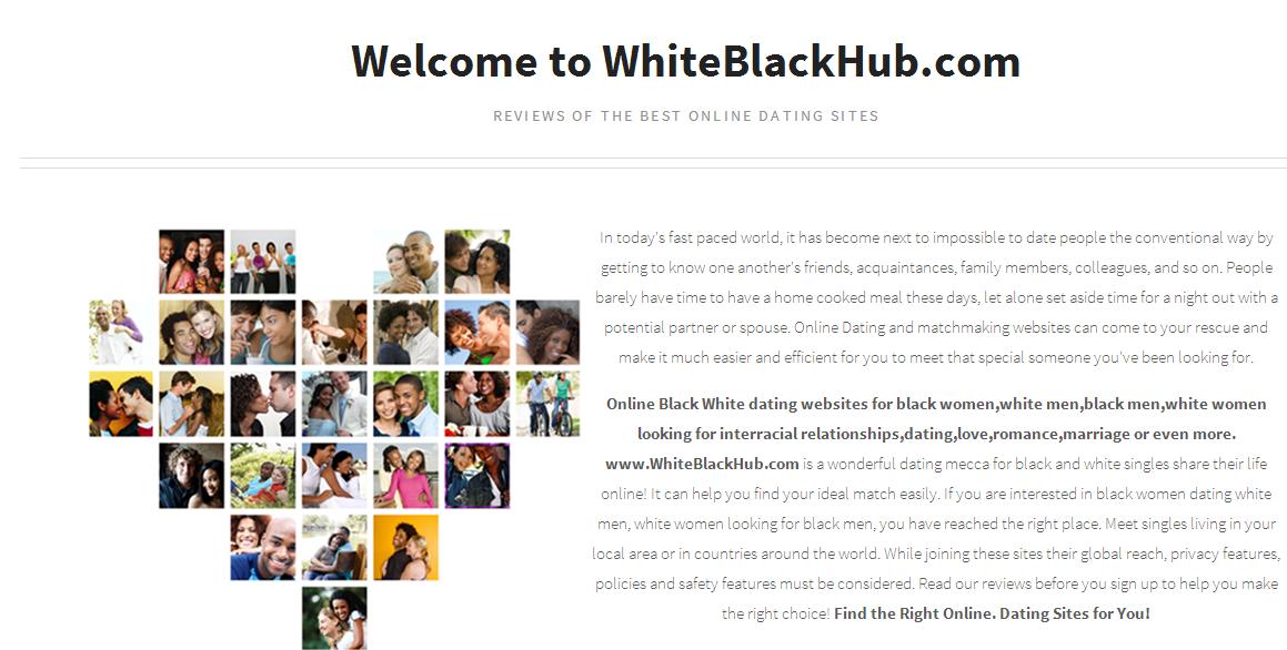 dating websites for blacks