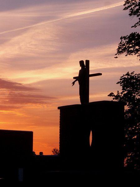 The Catholic side of the cemetery (Shelby, NE) - Photo by Tiffannie Bond