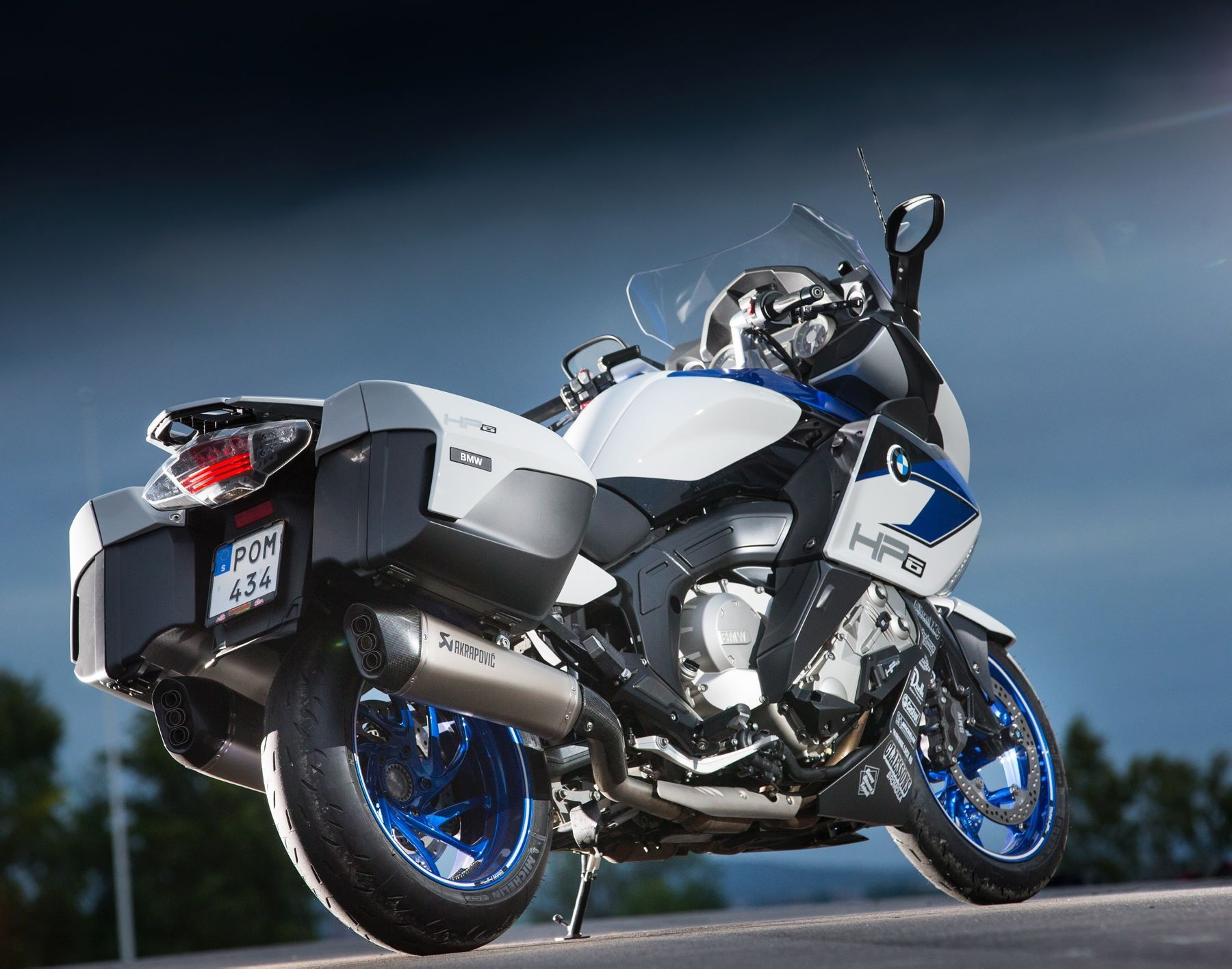 Magazine All About Mc Has Built A K 1600 Gt And Baptized Creation Of Hp6 Bmw K1600 Gt K1600gt Motorcycle Motor Bmw