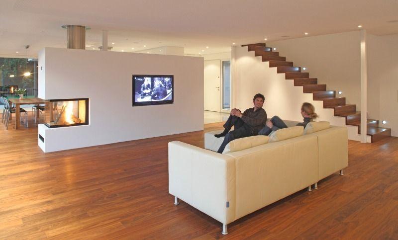 kamin tv wohnen pinterest wohnzimmer hausbau und. Black Bedroom Furniture Sets. Home Design Ideas