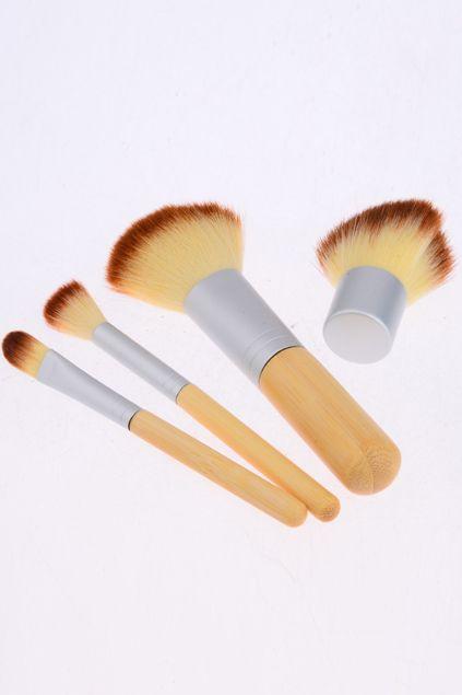 #romwe 4 Makeup Brushes