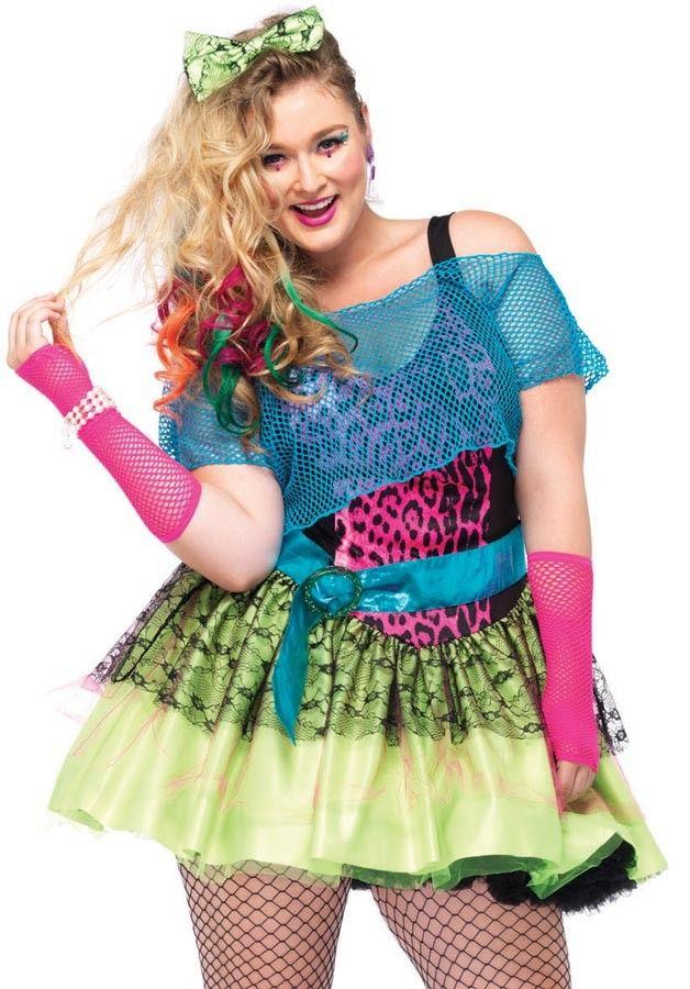 Plus size fancy dress 80s leg | Costumes | Pinterest | Costumes ...