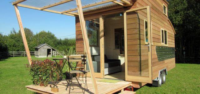 Tiny House Bauen diese mobile tiny house kann sich in frankreich bauen lassen