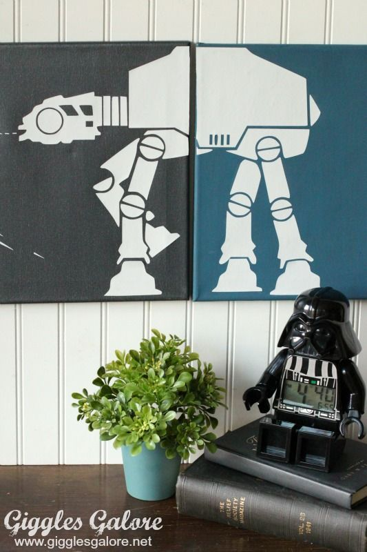 Diy canvas · Make your own DIY Star Wars Canvas Wall Art. ... & Make your own DIY Star Wars Canvas Wall Art. This custom art work is ...