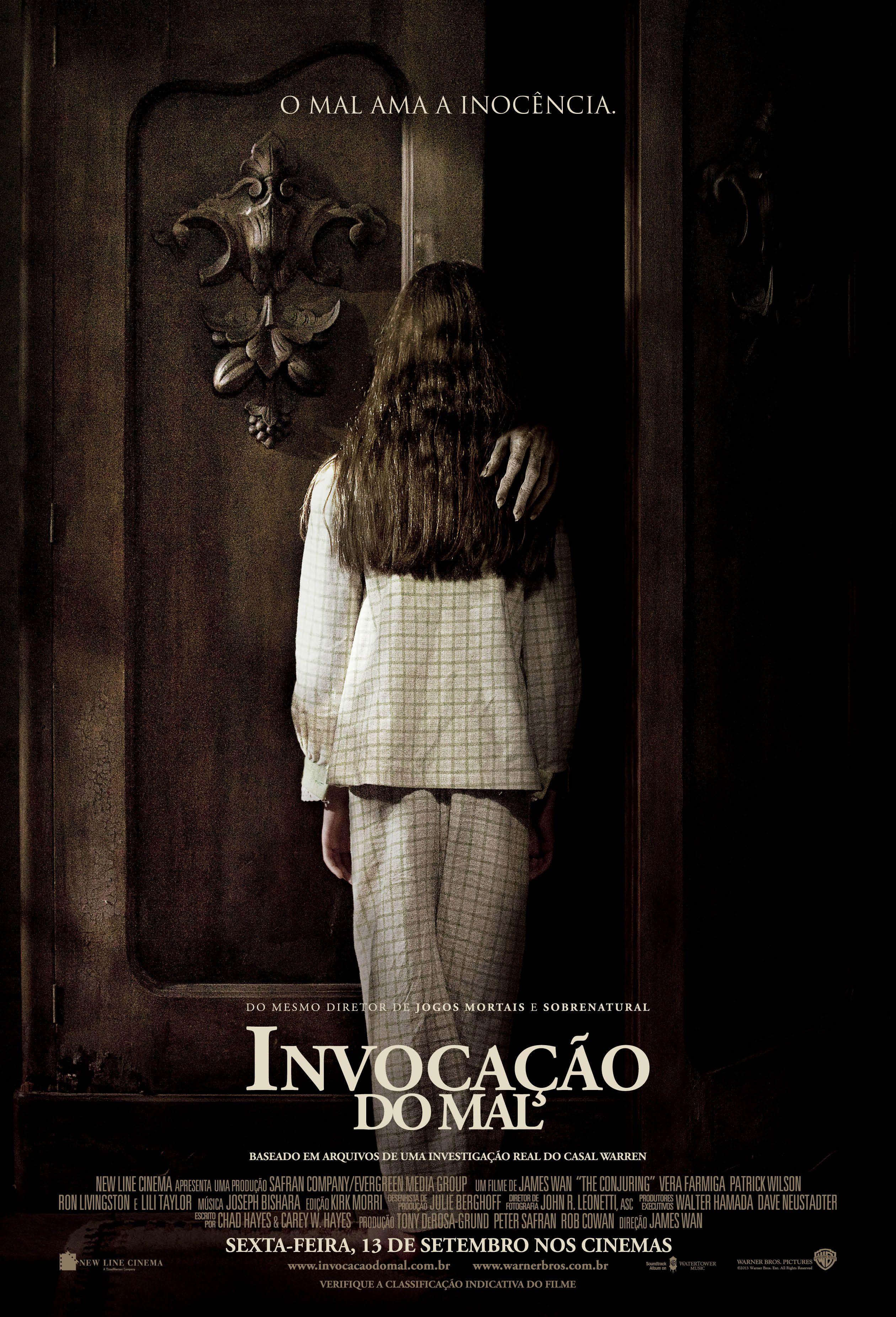 Invocação do Mal   Filmes de terror, Cartaz