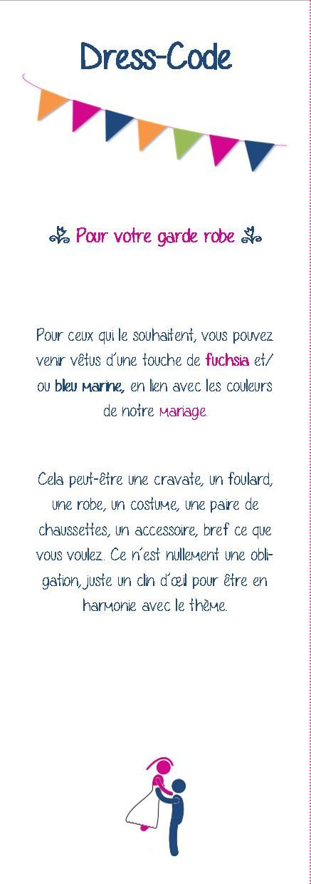 Dress code mariage faire part save the date et support for Code vestimentaire de mariage
