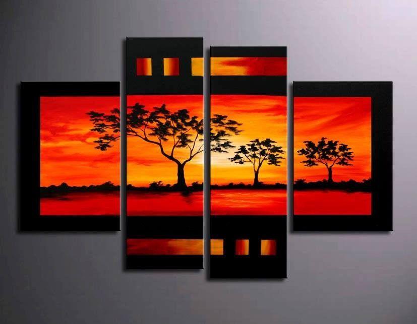 Cuadros modernos decorativos 558011 mlv20461875976 102015 - Pinturas modernas para salones ...