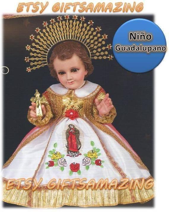 Vestido Niño Dios Niño Guadalupano Virgen Maria Ropa