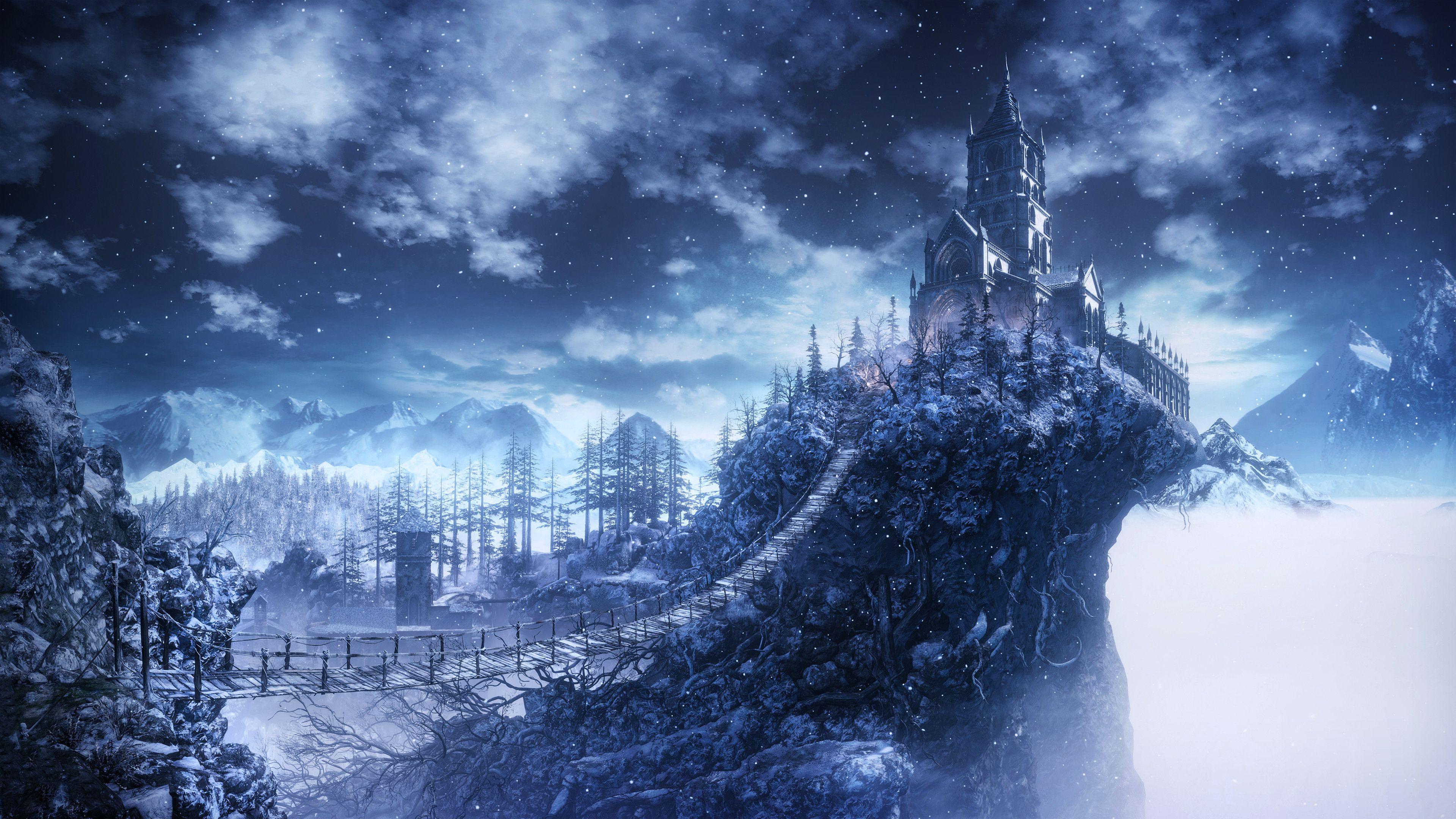 Res: 3840x2160, Dark Souls III