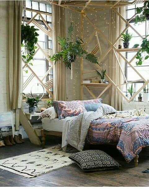 Pin by Mafer Machado on Boho chic   Pinterest   Bedrooms, Room and ...