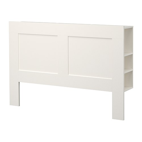 Brimnes Headboard With Storage Compartment White For The Home