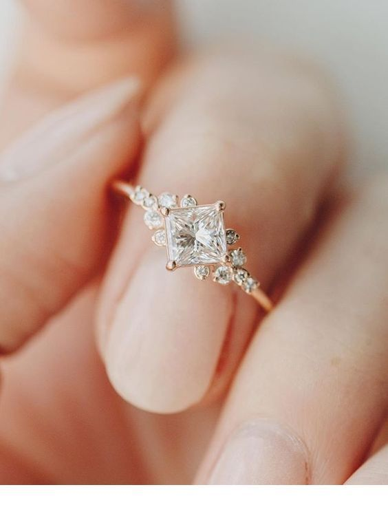 Nice Ring Idea For Wedding Nice Ladies Gorgeous Engagement Ring Engagement Rings Aquamarine Engagement Ring