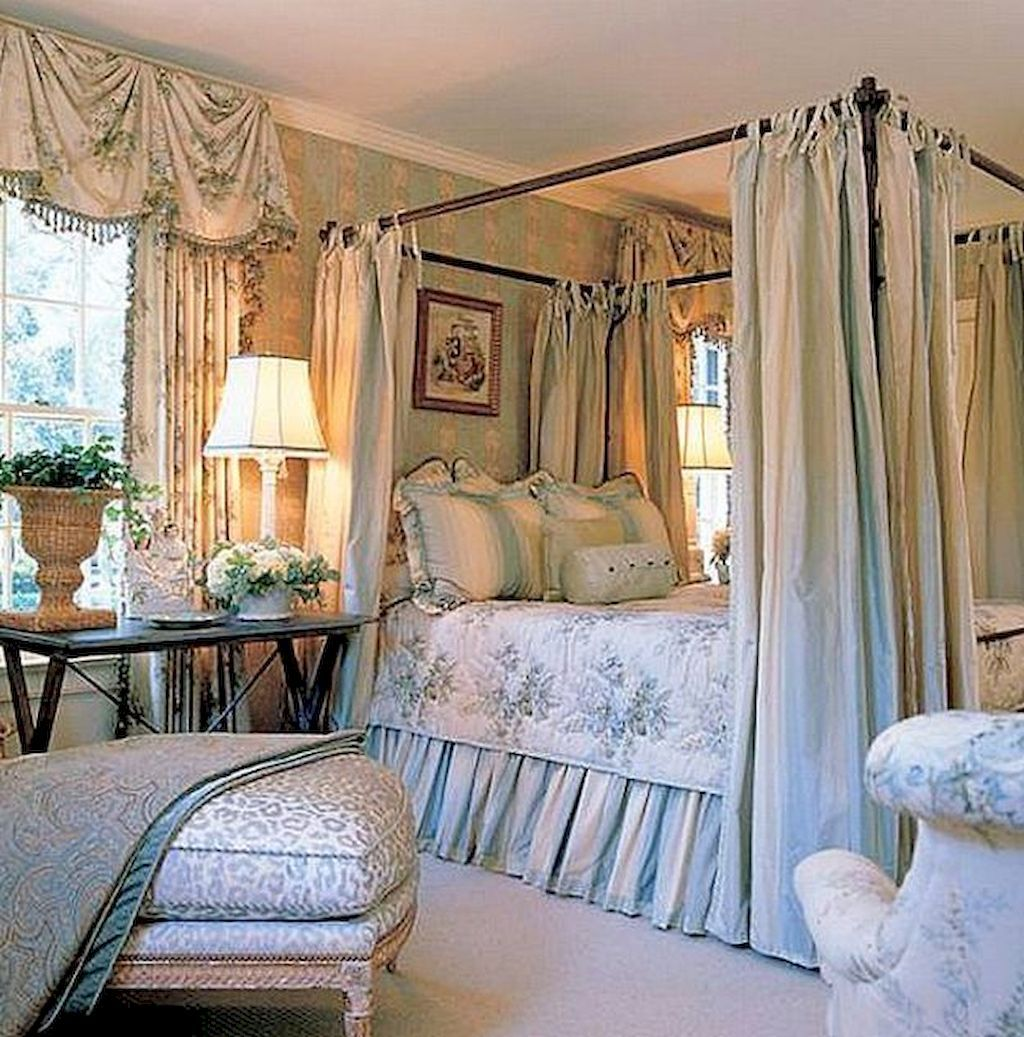 70 simple french country bedroom decor ideas on a budget
