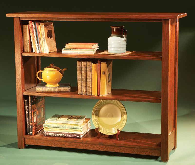 Stickley Bookcase How To Build A Strong Without Back By Laurie Mckichan When