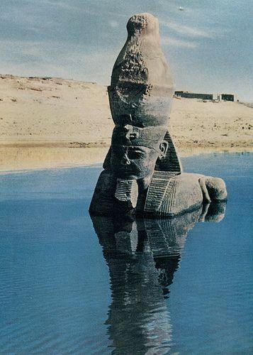 Flood God, Egypt   photo: Peter Harris