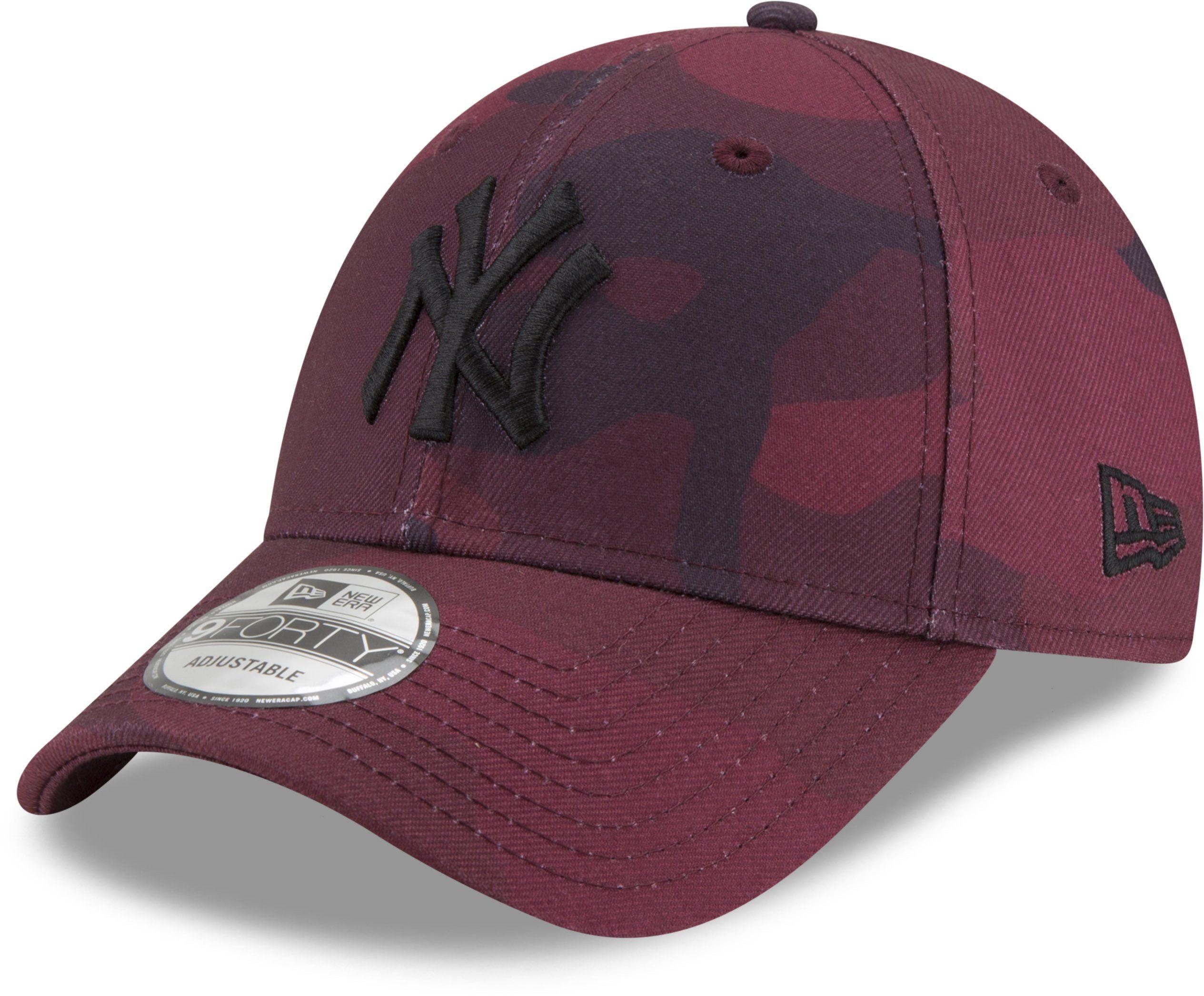 7ae7f8033543dc New York Yankees New Era 940 Maroon Camo Baseball Cap – lovemycap ...