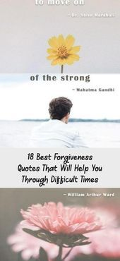 Photo of 18 Best Forgiveness Quotes That Will Help You Through Difficult Times – Quotes  …