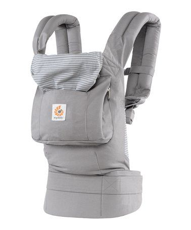 f215bc2455d Love this Misty Gray Ergonomic Multi-Position Baby Carrier by Ergobaby on   zulily!  zulilyfinds