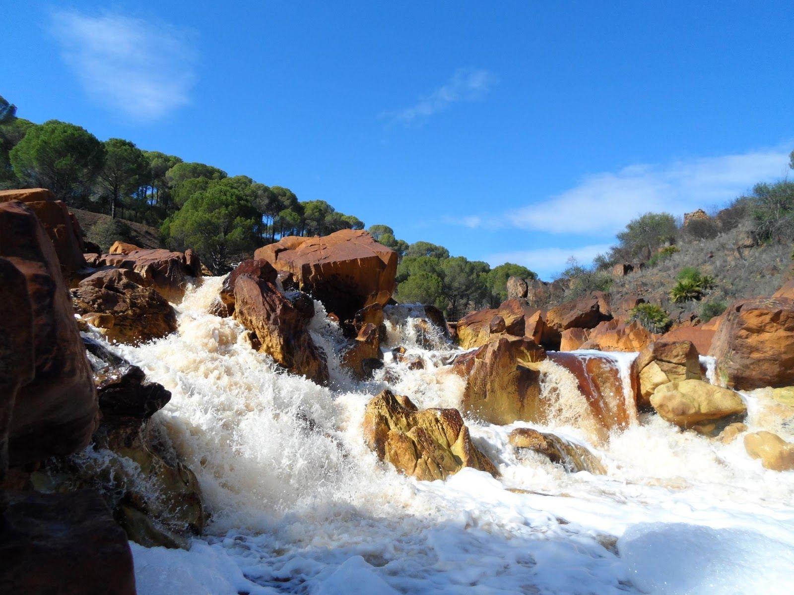 Cascadas del Tinto en Las Majadillas (por Israel Pérez)