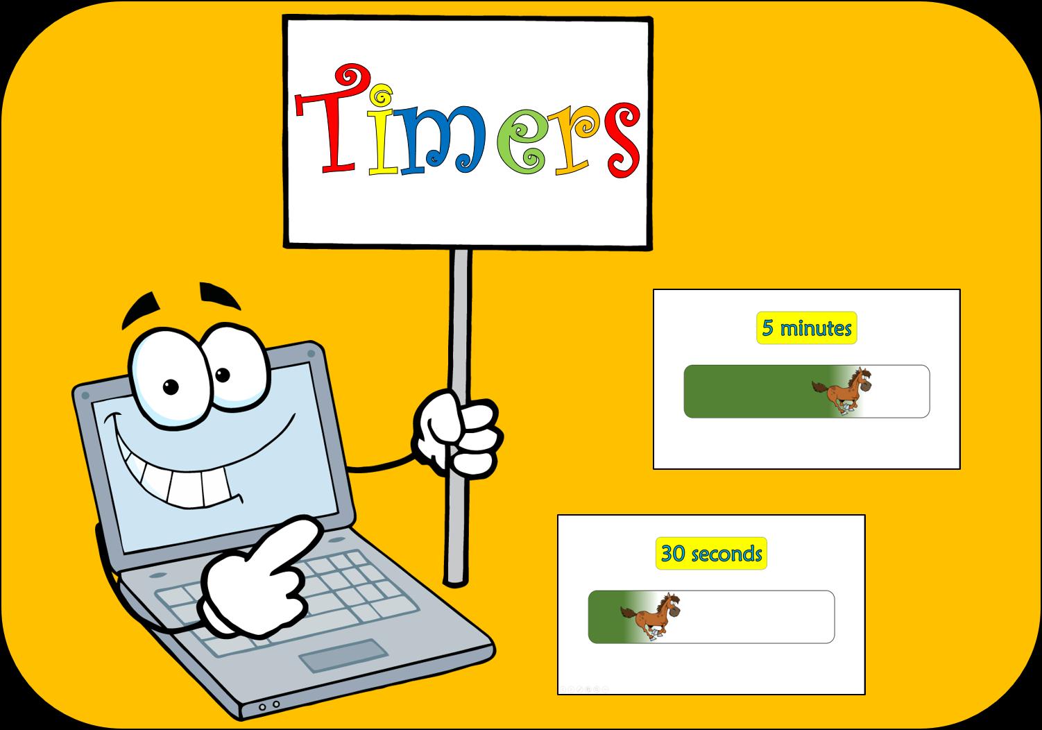 Class Timer 2 | Class Timers | 30 seconds, 7 minutes, Classroom