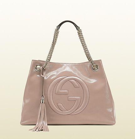 Gucci - borsa shopping soho con tracolla a catena 308982AB80G6812