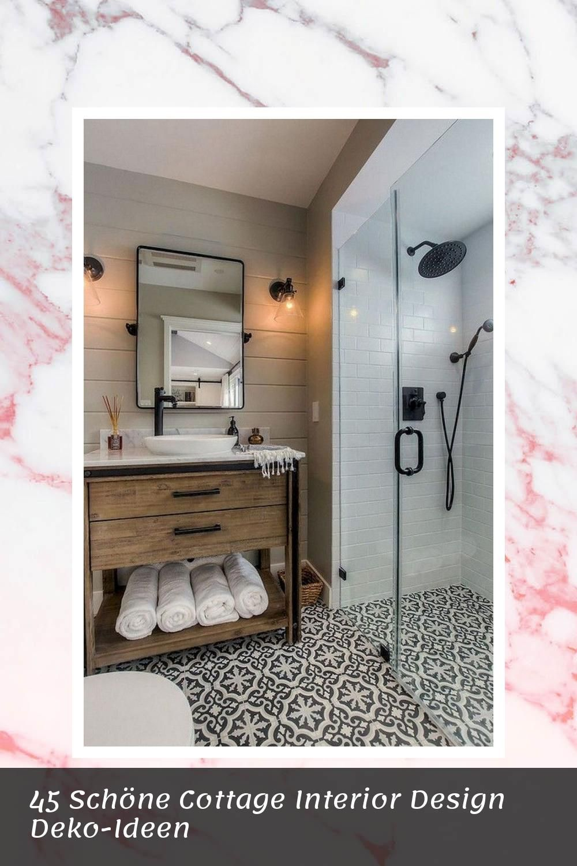 Cool 45 Schöne Cottage Interior Design DekoIdeen