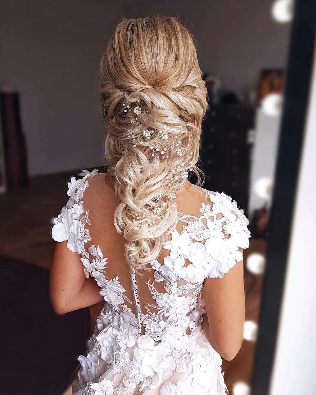 crystal and pearl hair vine hair vine Bridal Hair Vine Wedding hair vine crystal hair piece bridal jewelry hair vine pearl Bridal Hair Vine #bridalhairflowers