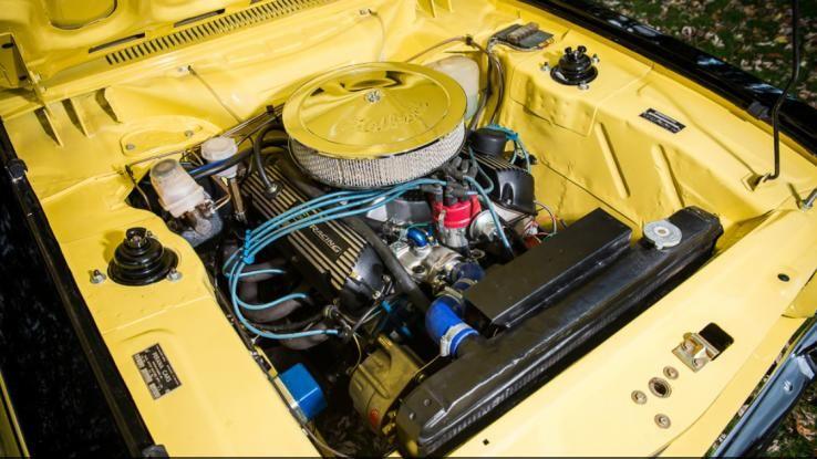 1970 Ford Capri Perana V8 Engine Bay
