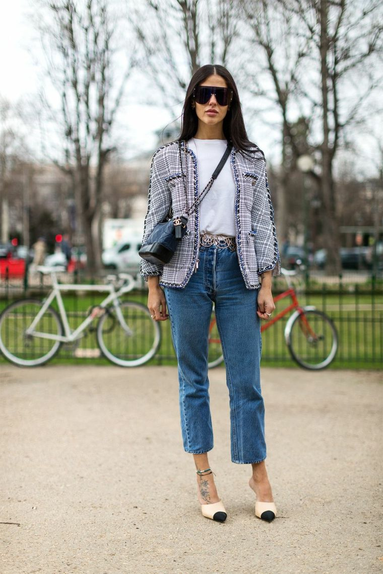 Giacca in jeans abbinamenti