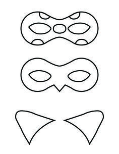 Diy Miraculous Tales Of Ladybug And Cat Noir Masks Coccinelle