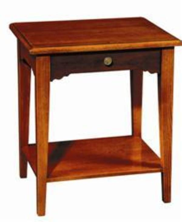 Rochambeau Bedside Table, Grange Furniture Inc