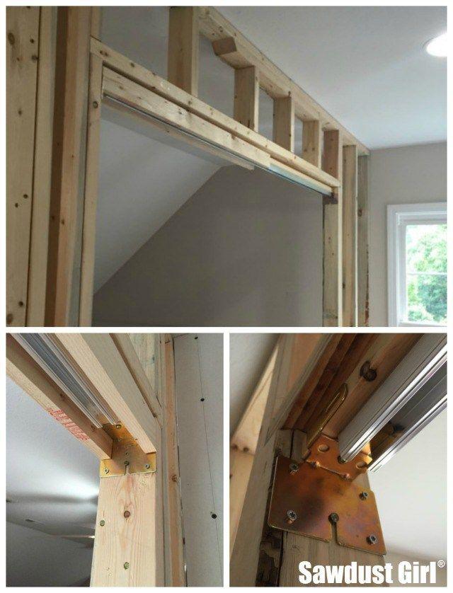 How To Install A Pocket Door Frame Pocket Door Frame Door Frame